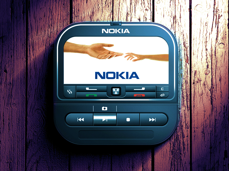 nokia 3250 ios icon 30 Highly Skeuomorphic Icon Designs With Incredible Detail