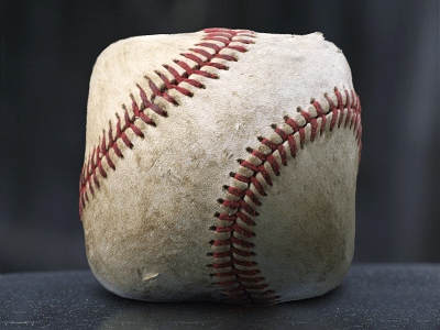 baseball icon final 30 Highly Skeuomorphic Icon Designs With Incredible Detail
