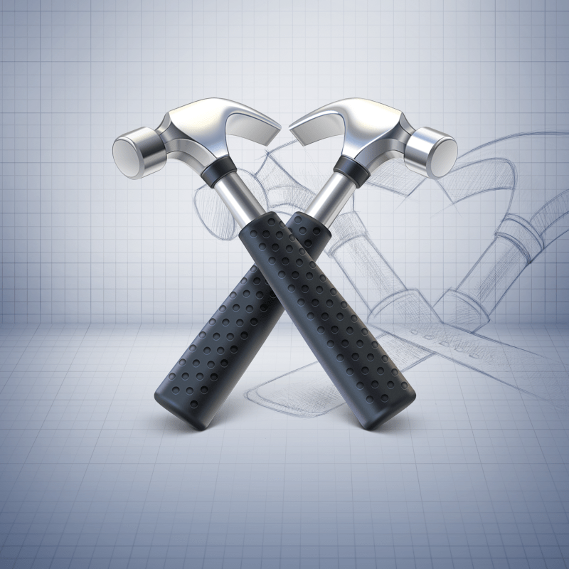 hammer 30 Stunningly Detailed Mac Icons