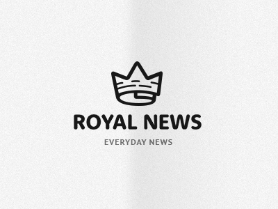 royal news 14 Epic Crown Logos