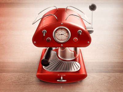 expresso 30 Highly Skeuomorphic Icon Designs With Incredible Detail