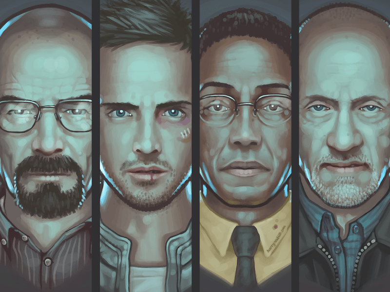 all 25 Breathtaking Digital Paintings from Dribbble
