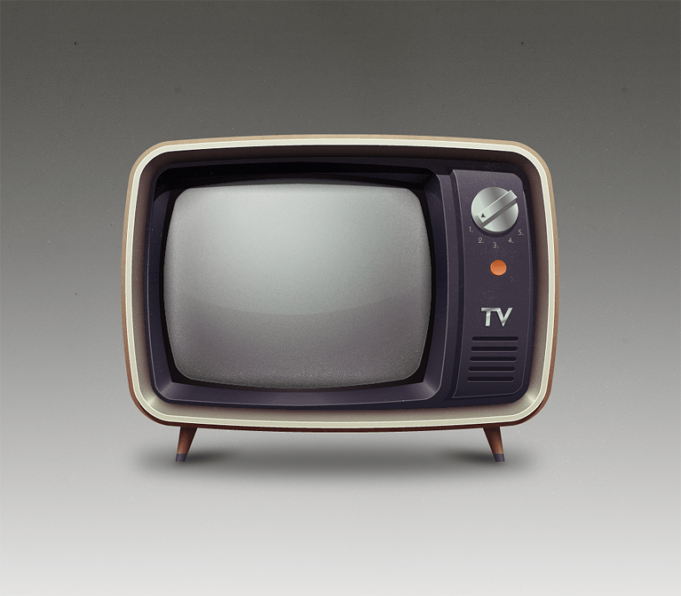 TV originalsize2 30 Stunningly Pixel Perfect Digital Illustrations