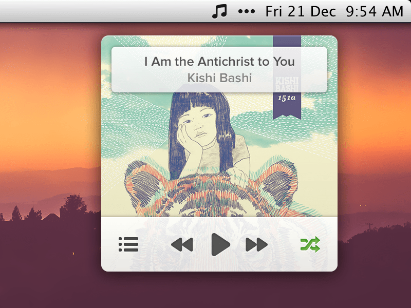 untitled 1 20 Gorgeous Music Players from Dribbble