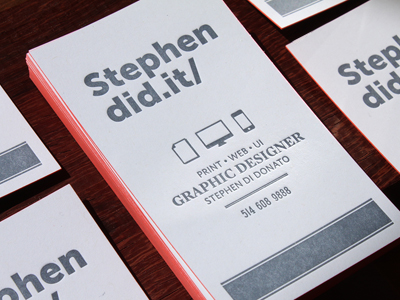 img 6783 10 Minimal Business Card Designs | Inspiration