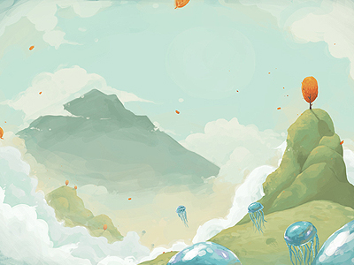 dribs 25 Breathtaking Digital Paintings from Dribbble