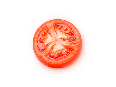 vector tomato 25 Gorgeous 3D Fruit & Vegetable Illustrations