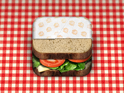 sandwichicon 20 Extraordinary Icons of Food | Inspiration