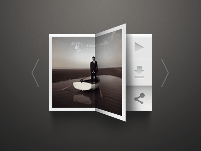 music 20 Gorgeous Music Players from Dribbble