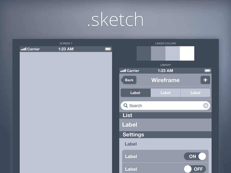 wireframe iphone 20 Beautiful, Free UI Kits to Download