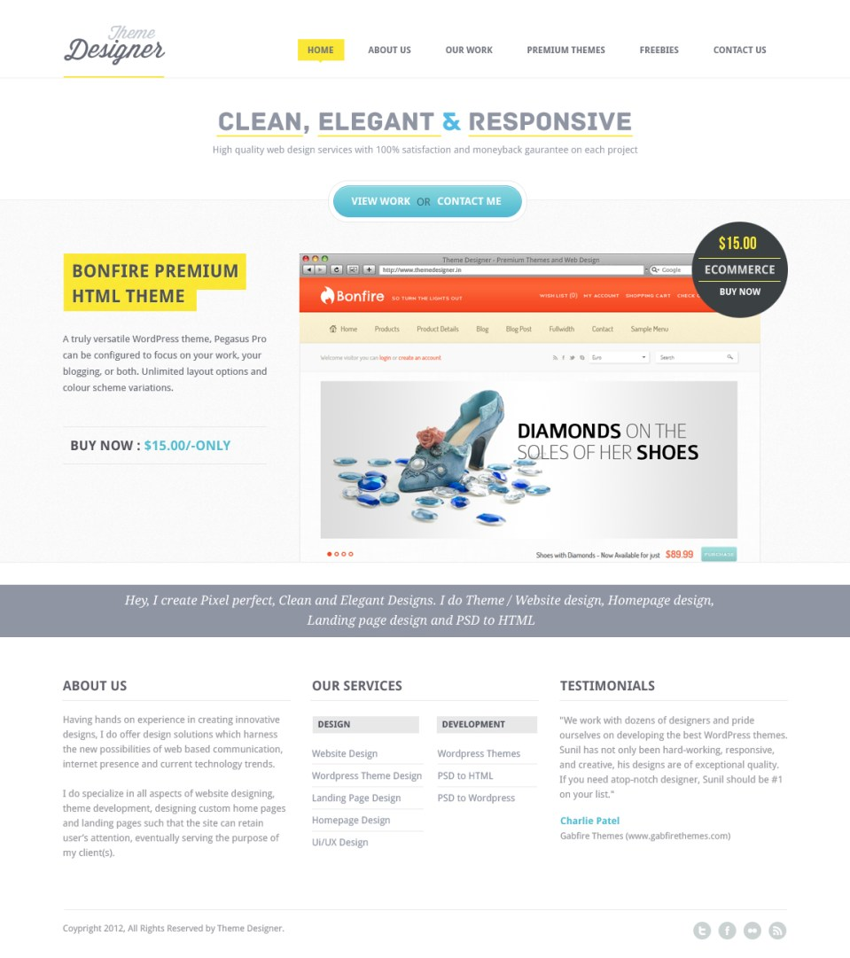 theme des 20 Gorgeous Examples of Web Design Inspiration | Part 2