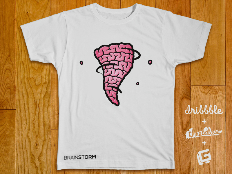 threadless brainstorm florian grunt 800x600 40 Incredible T Shirt Concepts for Inspiration