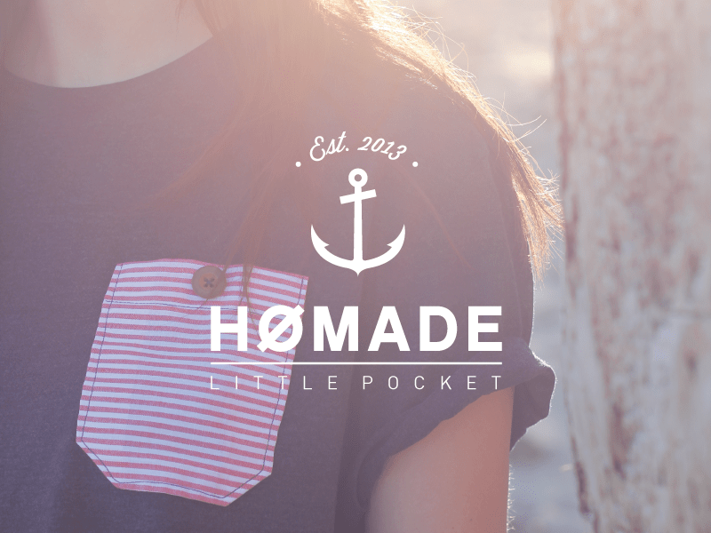 homade littlepocket 16 Beautiful Examples of Anchor Logos