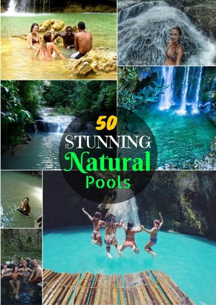 50 STUNNING Natural Pools