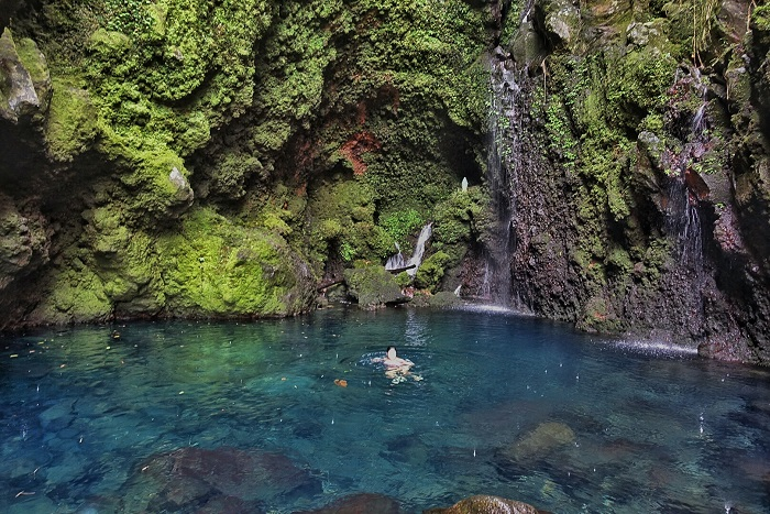 Kilangin Falls, in Majayjay Laguna (Philippines)