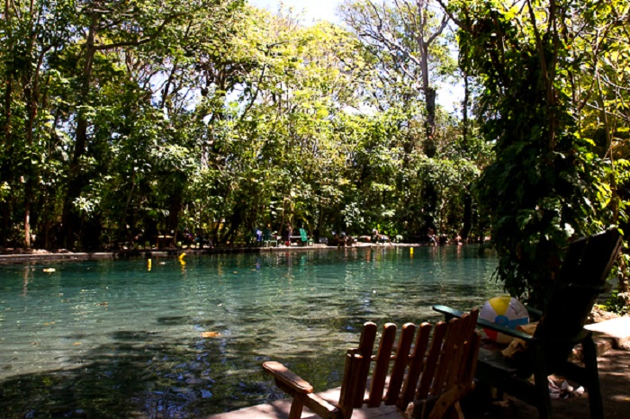 Ojo de Agua on Ometepe Island