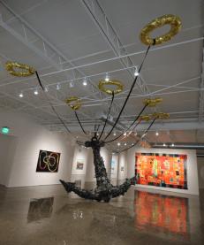 REWORLDING Exhibition installation shot, 2017