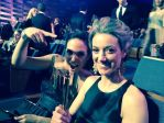 Anna Silk and Zoie Palmer at the Canadian Screen Awards 2014 (Source: Alex Lalonde)