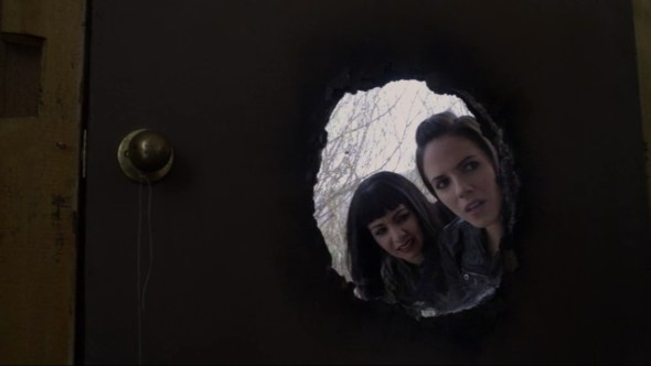 Bo and Kenzi in Where There's a Will, There's a Fae