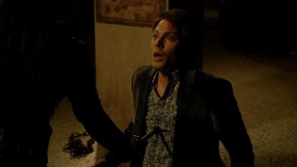 Massimo dying in Dark Horse