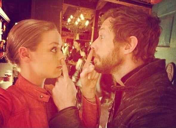 Rachel Skarsten and Kris Holden-Ried