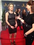 Zoie Palmer at the Canadian Screen Awards 2014 (Source: Canadian Film Review)