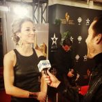 Zoie Palmer at the Canadian Screen Awards 2014 (Source: tdot tv)