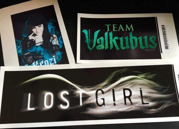 Lost Girl stickers