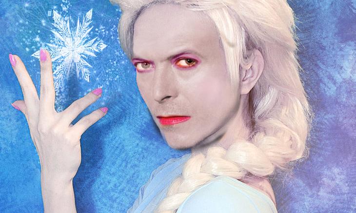 Exclusive Bowie Frozen Photo