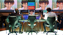 Shinji causes stock market to crash