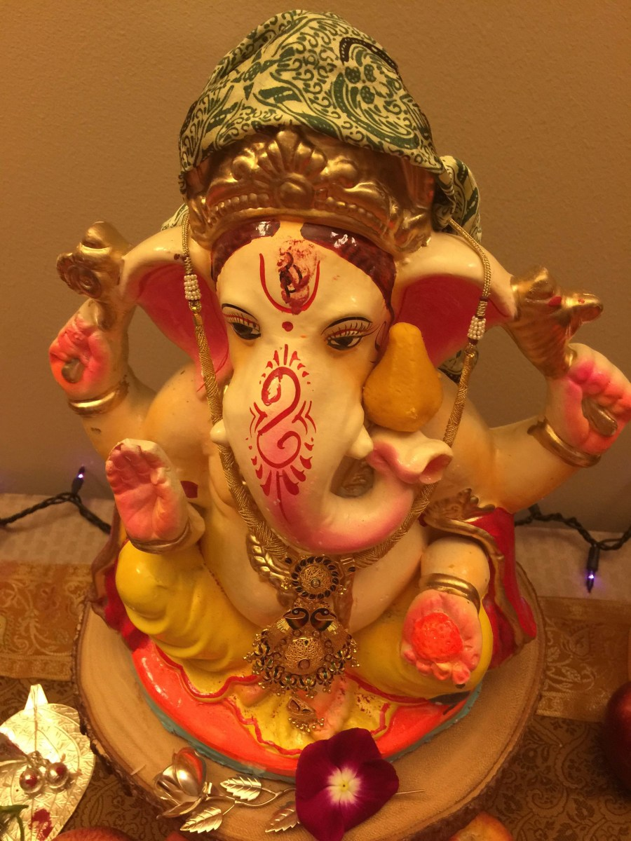 From Maximum City to City in a Forest: Ganpati Bappa Travels to USA