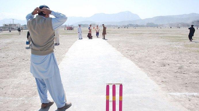 Die afghanische Cricket-Mannschaft beim Training: Sie hat alle möglichen Hindernisse zu überwinden, um sich für die Weltmeisterschaft zu qualifizieren. Bild: ARTE F