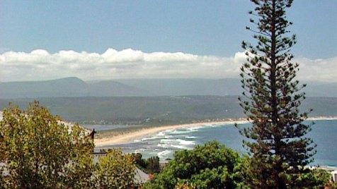 Strand am Indischen Ozean bei Plettenberg Bay in Südafrika. Bild: HR