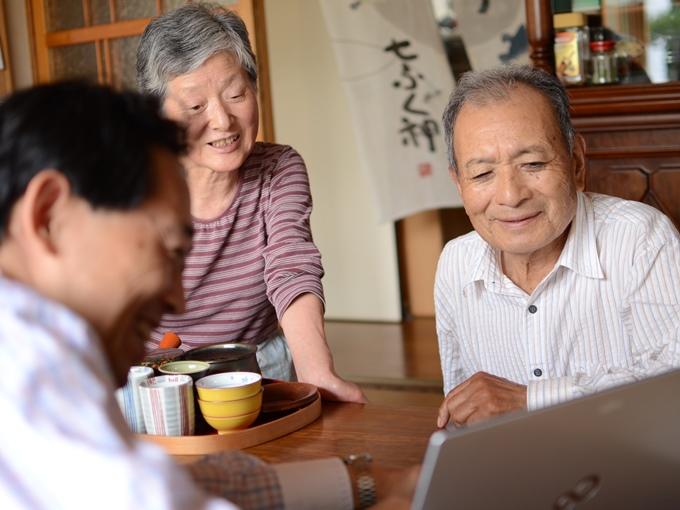 高齢者先進国モデルの活動風景