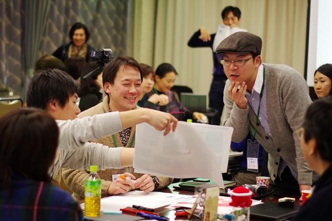 みちのく創発キャンプの様子。中央左は石巻2.0代表の松村豪太さん