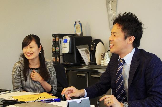 お互いについて語る松島さんと小沼さん