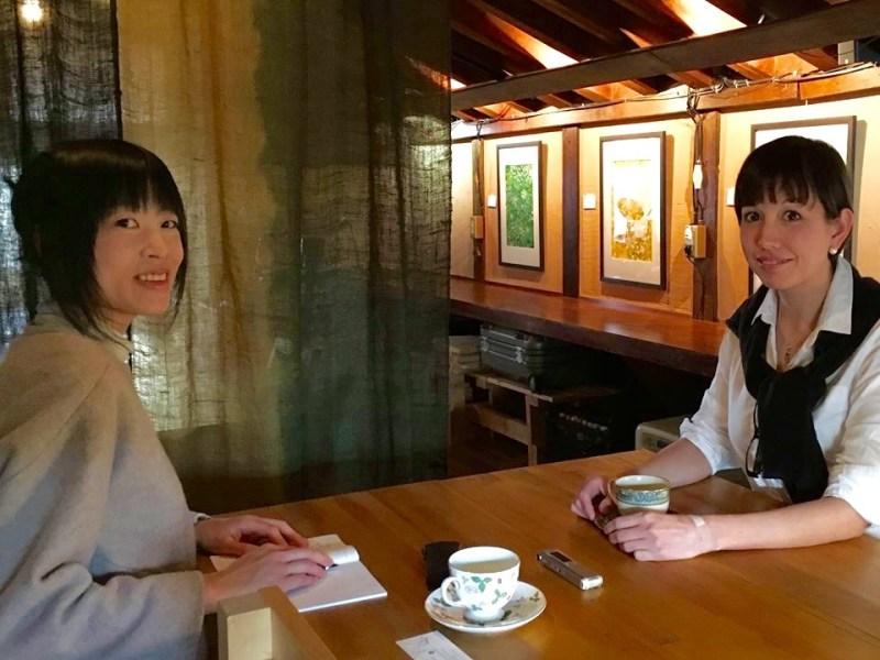 KAKECOMIインタビュー風景