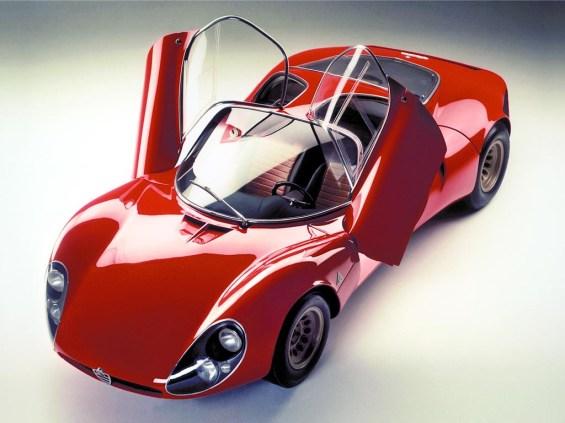 1967 Alfa Romeo T33-2 Stradale Prototipo