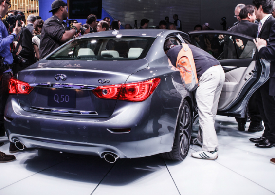 Infiniti Q50 to be sold in Japan