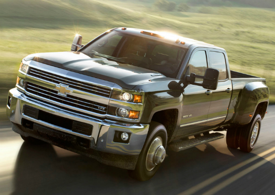 2015 Silverado Heavy Duty