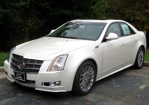 A Cadillac CTS