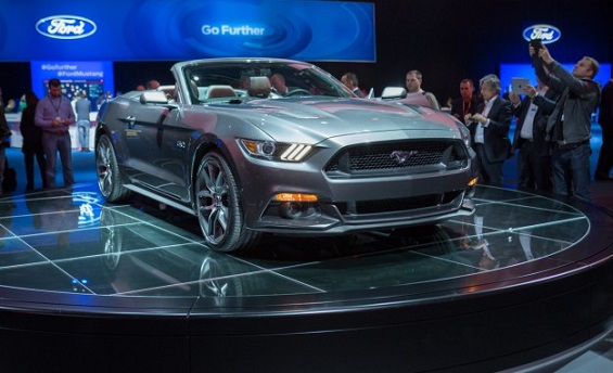 Ford is developing an official right-hand-drive 2015 Mustang