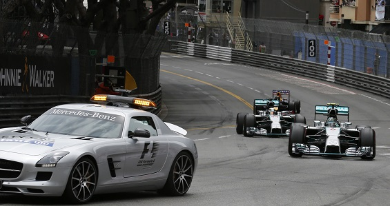 "Formula One is testing out a ""virtual safety car"""