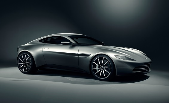 James Bond is going to be driving an Aston Martin DB10