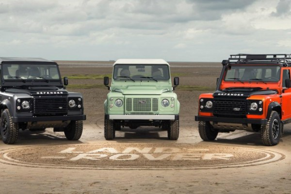Land Rover is sending off the Defender with three limited edition models