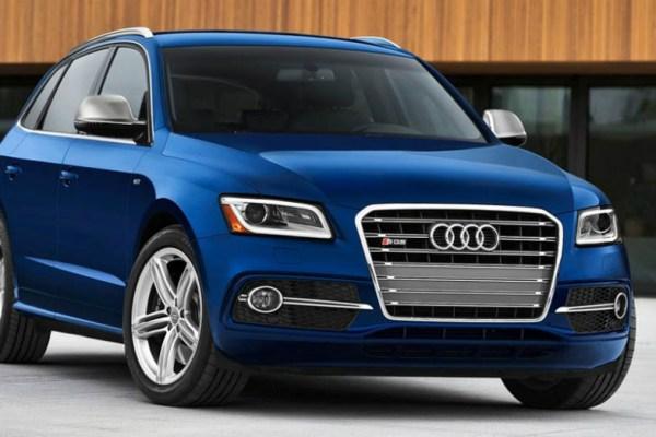 2015 Audi Q5 Hybrid Blue
