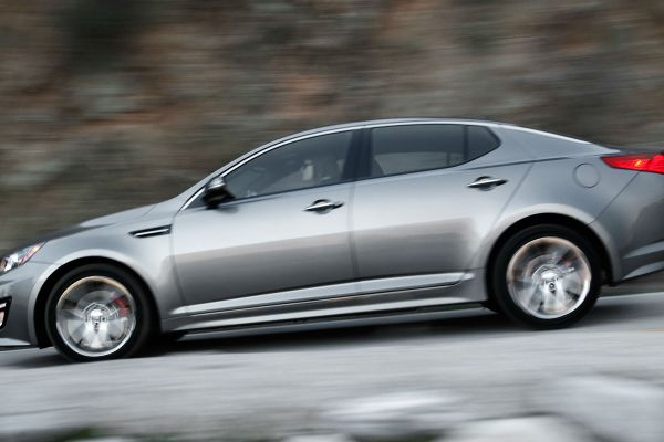 Kia unveils the new Optima at the New York Auto Show
