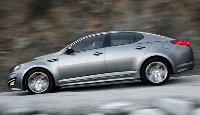 Kia unveils the new Optima at the New York Auto Show