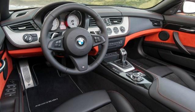 2015 BMW Z4 Interior