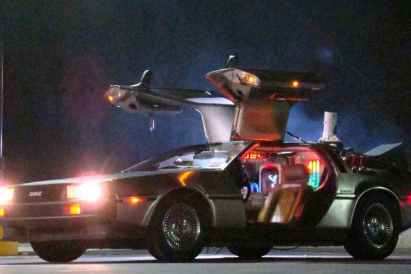 10.26.16 - DeLorean Time Machine